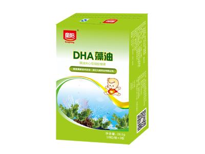 DHA藻油(藻油夾心型凝膠糖果)