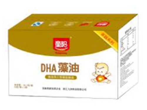 DHA藻油(藻油夹心型凝胶糖果)