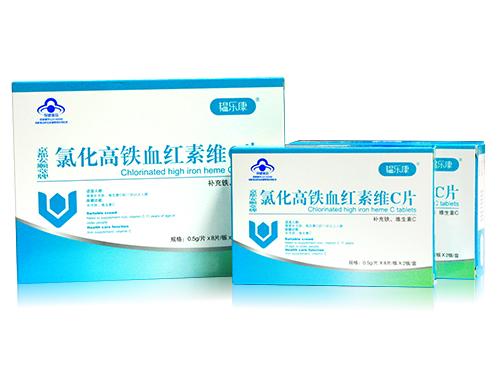 韫乐康氯化高铁血红素维C片