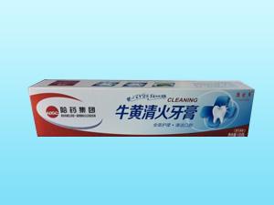 牛黄清火牙膏