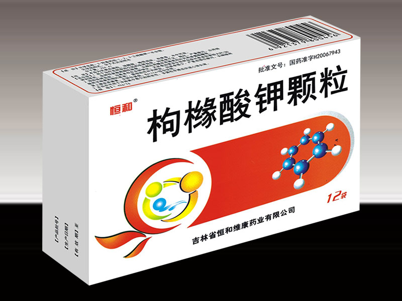 枸橼酸钾颗粒(国家三类新药果类)