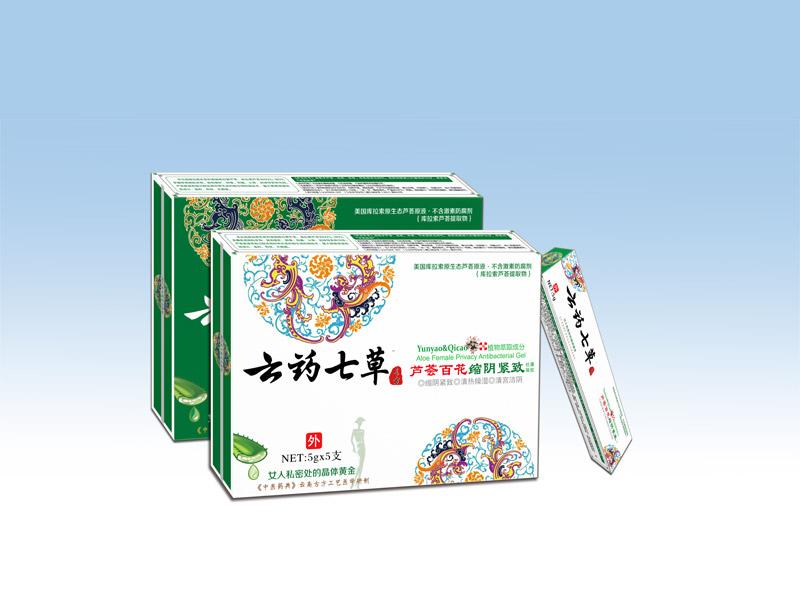 云藥七草-蘆薈百花縮陰緊致抗菌凝膠