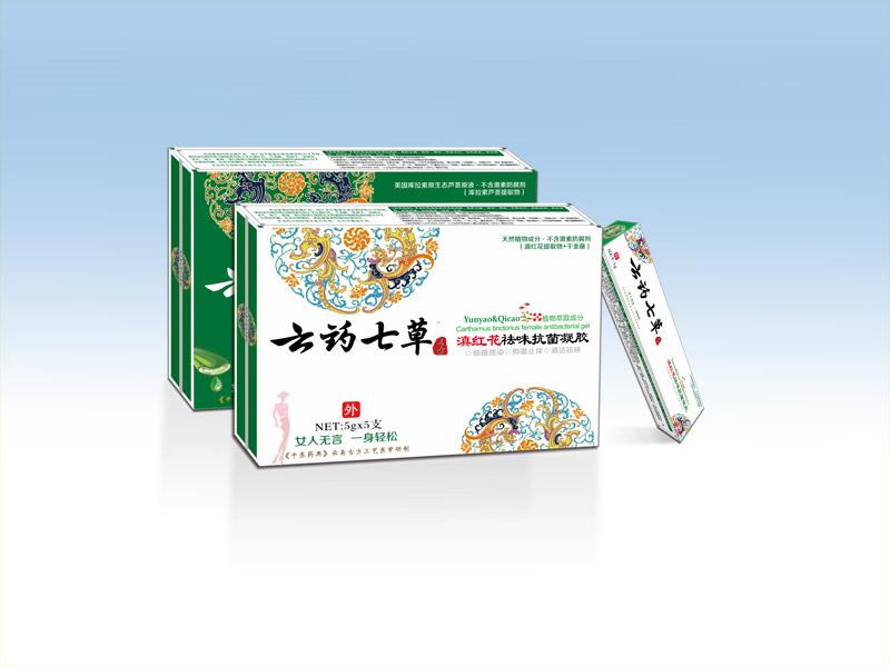 云藥七草-滇紅花祛味抗菌凝膠