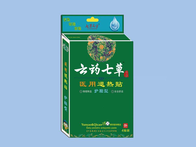 云藥七草-醫用退熱貼護腦型