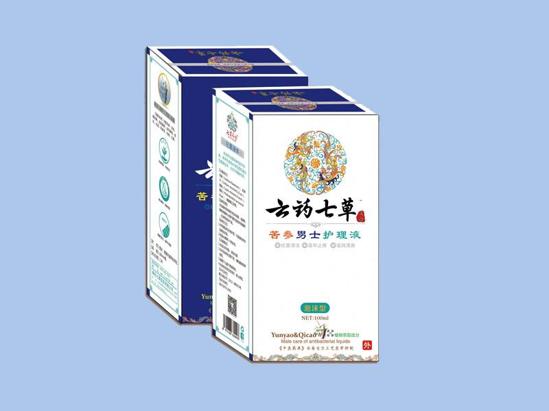 云藥七草-苦參男士抗菌護理液
