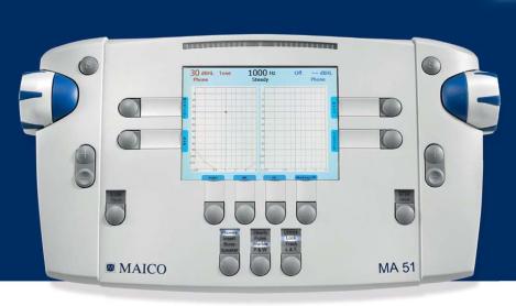 德國MAICO麥科聽力計MB11/MA51廠家