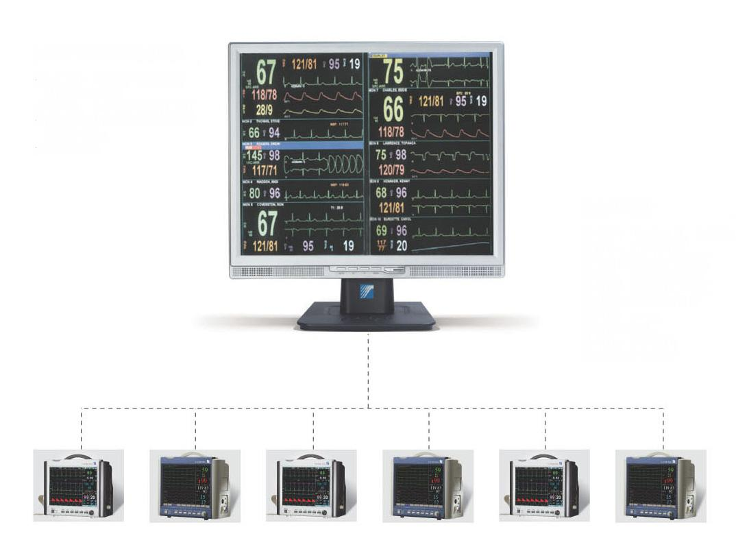寶萊特中央監護系統
