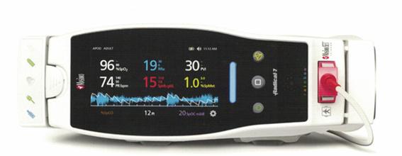 廠商美國邁心諾Radical-7脈搏碳氧血氧飽和度測量儀