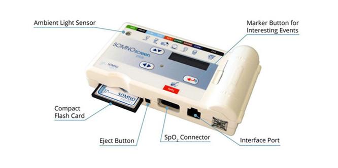 德国SOMNO施曼诺多导睡眠记录仪JFD5001厂家