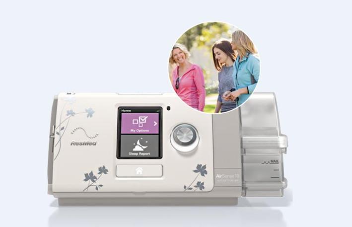 供應瑞思邁持續正壓通氣治療機AirSense 10 AutoSet for Her Plus