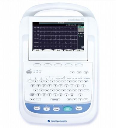 进口日本光电十二道心电图机ECG-2360