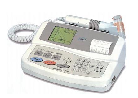 厂商日本捷斯特肺功能仪HI-101