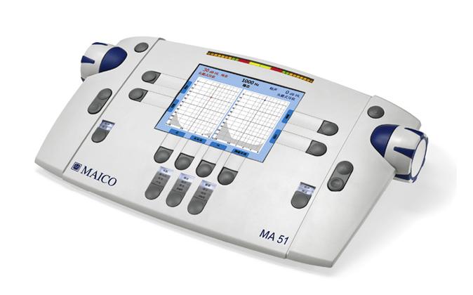 厂家德国麦科纯音听力计MA51