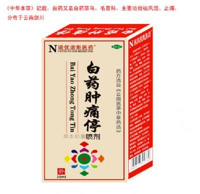 白藥腫痛停噴劑