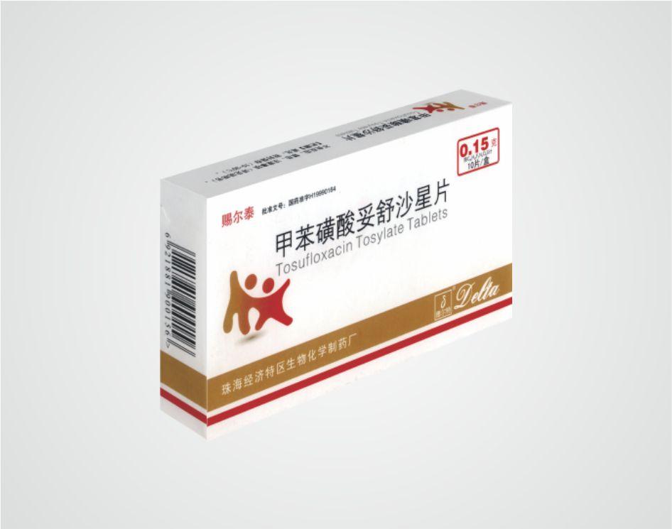 甲苯磺酸妥舒沙星片