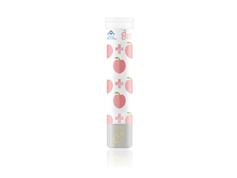 自然妈妈®维生素C泡腾片(成人)(水蜜桃味