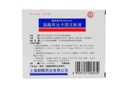 鹽酸布比卡因注射液