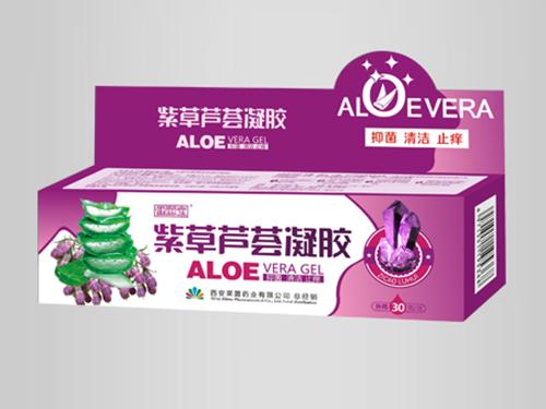 紫草蘆薈凝膠