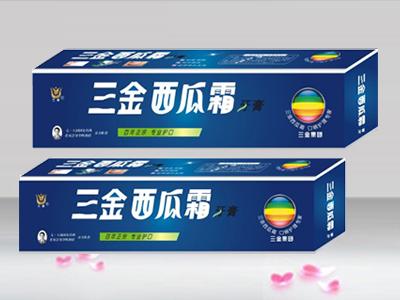 三金西瓜霜牙膏