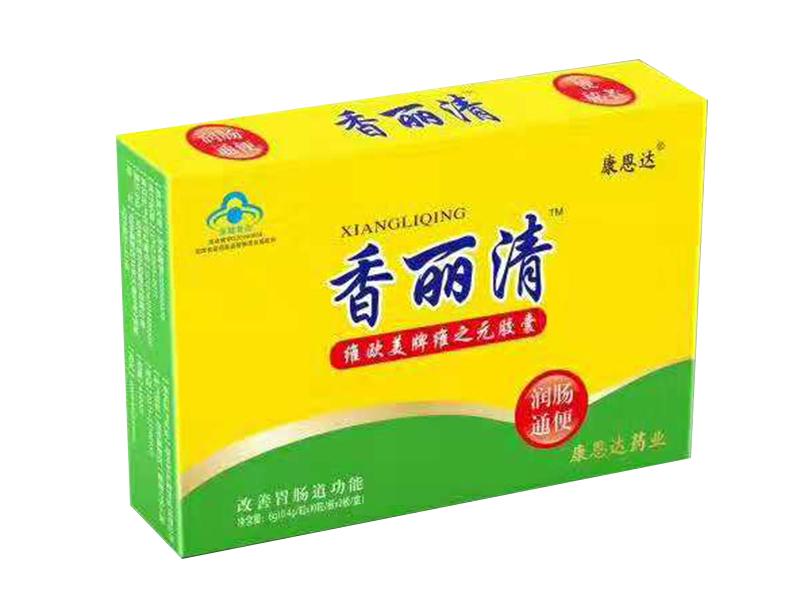 香丽清芦荟聚葡萄糖胶囊