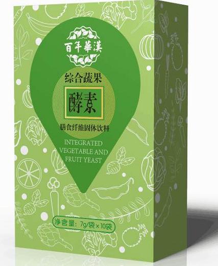 綜合果蔬酵素膳食纖維固體飲料