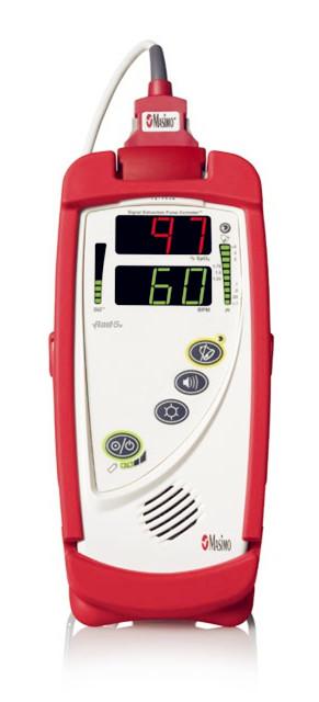 厂家美国迈心诺脉搏血氧测量仪Rad-5v